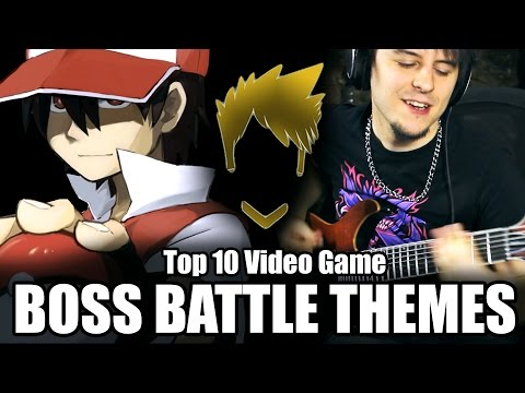 Top 10 Video Game Boss Battle Themes - Guitar Medley (FamilyJules)