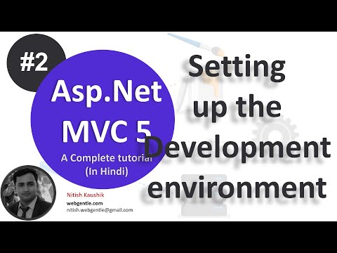 Part-2 | Setting up environment | ASP.NET MVC 5 tutorial-step by step in Hindi