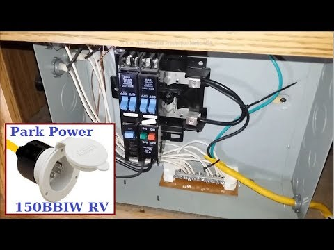 Power Your RV trailer while towing with 120 volts AC , info below