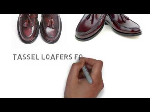 Mod Shoes Tassel Loafers for men and women