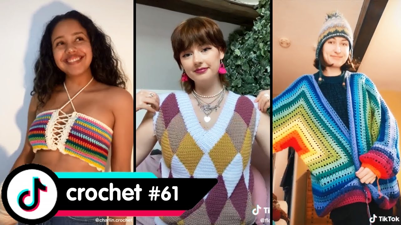 CROCHET CARDIGAN JACKET THAT MAKE ME WANNA BE COLD TO WEAR #61 - Peachtok