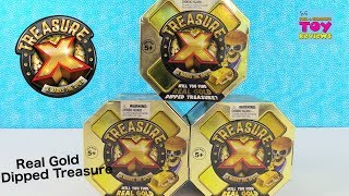 Treasure X Real Gold Treasure Hunt Blind Bag Toy Review Unboxing | PSToyReviews