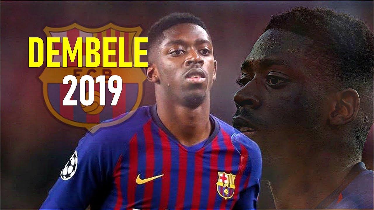 Ousmane Dembele 2019 - Mad Skills Runs Goals & Assists - FC Barcelona
