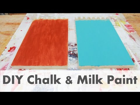 DIY Make Your Own Chalk & Milk Paint