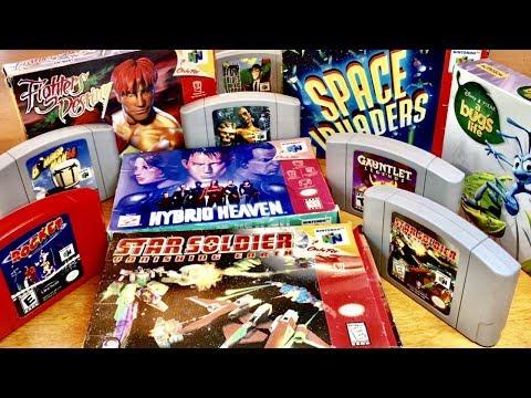 COMPLETE N64 LIBRARY! Rare Hidden Gems & Exclusive SHMUP (Nintendo 64) #13