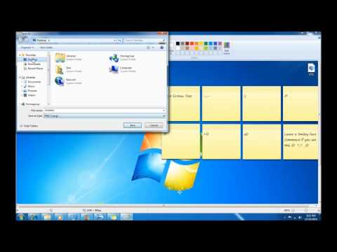 How to Take a Screen Shot on Windows 7 (simple)