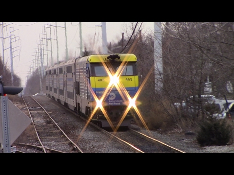 LIRR: Frigid Friday Rush Hour in Greenlawn