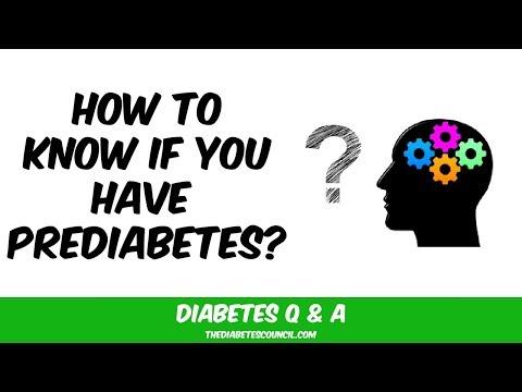 How Would I Know If I Have Prediabetes?