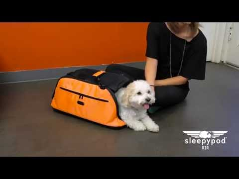 Sleepypod Air pet carrier - Instructional Video