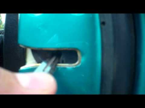 FIX CAR DOOR LATCH