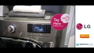 Smart technology to control functions on the new LG washing machine - Appliances Online