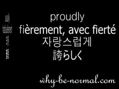 English/French/Korean/Japanese adverbs 1