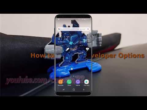 Android Nougat : How to Enable Developer Options in Samsung Galaxy S8 or S8+