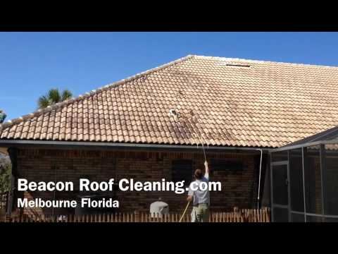 Melbourne Florida Tile Roof Cleaning