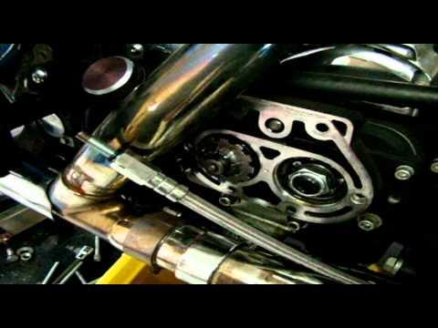 LA Choppers Prime Apes Installation Video - Harley Davidson Roadking