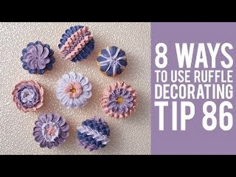 8 Ways to Decorate Cupcakes with Ruffle Tip 86