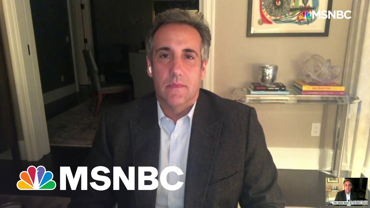 Michael Cohen On Trump Probe: Everyone In The Company Lied For Donald