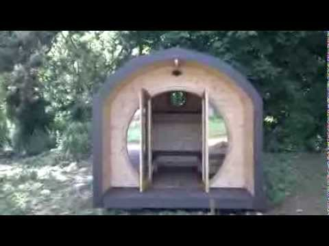 Camping pod, shire pod, Glamping pod