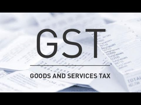 GST Portal First Look | Payment and some options are visible.