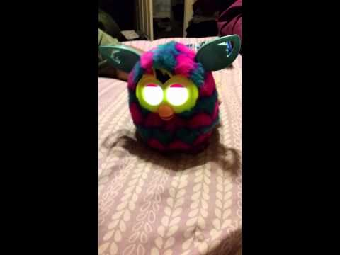 Changing furby booms personality