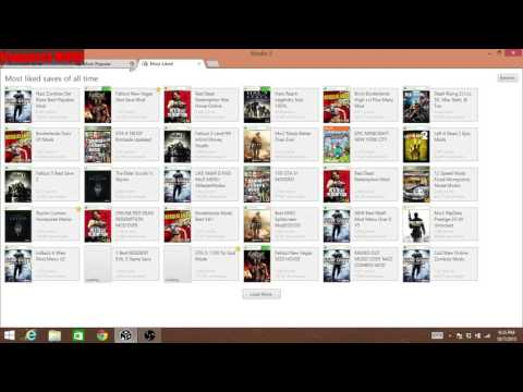 how to use modio 5 and get xbox 360 game saves