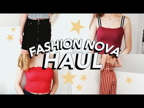 ANOTHER HUGE FASHION NOVA HAUL (it's actually worth the hype)