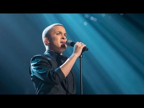 Jahmene Douglas sings Abba's I Have A Dream - Live Week 8 - The X Factor UK 2012