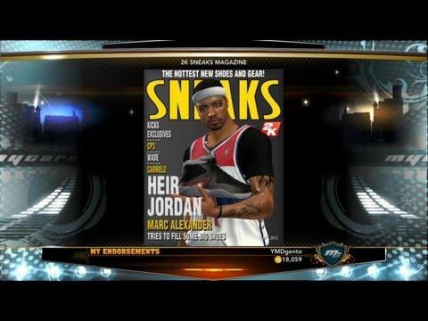 NBA 2K13 MyCAREER - End of Season Awards + Jordan Signature Shoe