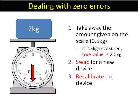 ISA language YOUTUBE 7 - Zero errors and calibration