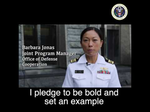 U.S. Embassy Singapore makes a bold pledge