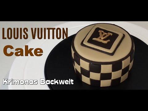Louis Vuitton Fondant Torte Cake