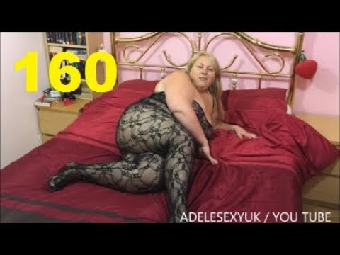 Xxx Mp4 ADELESEXYUK TRYING ON A PLUS SIZE STRETCH LACE BODY STOCKING WITH CROSS OPEN BACK 3gp Sex