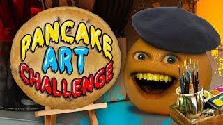 Annoying Orange - Pancake Art Challenge!