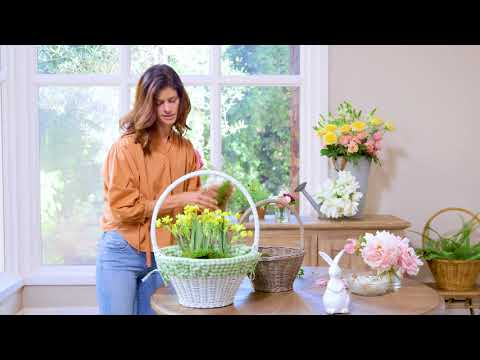 How to Create an Easter Basket