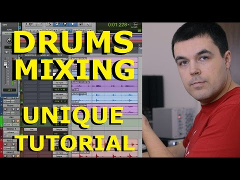 Drums Mixing Tutorial - Parallel Compression from Pro Mixer's Unique Mixing Course