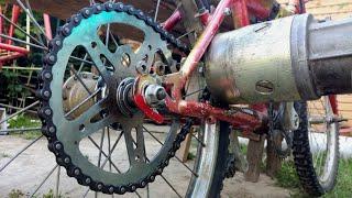 Electric Bike From Scrap - Simple E-Bike 1000w - Homemade