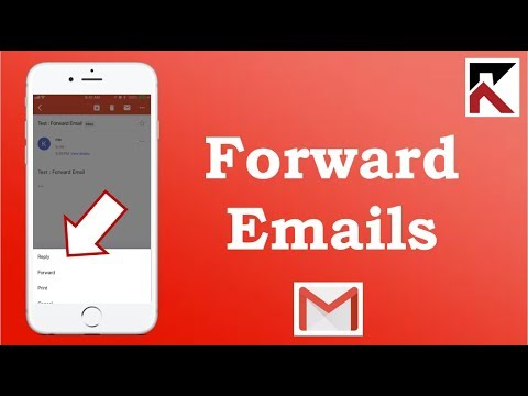 How To Forward Emails Gmail iPhone