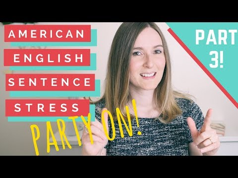 How Stress Changes Meaning in American English! Improve your Accent!