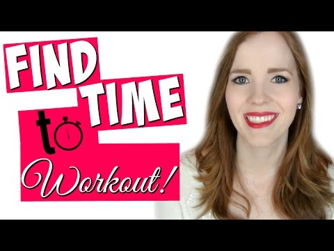How I Find Time to Workout! | Busy Work-at-Home/Stay-at-Home/Homeschooling Mom!