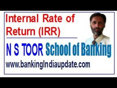 IRR-Internal Rate of Return with example