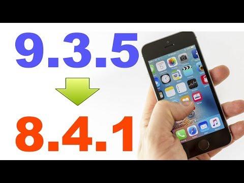Downgrade iOS 9.3.5 para o 8.4.1 ! iPad 2,3, 4, mini, iPod 5 ,iPhone 4S e iPhone 5 SEM PC !