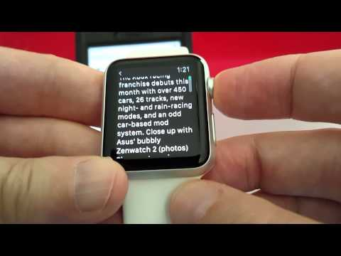 Apple Watch Web browser review