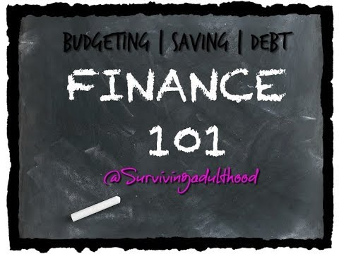 BASICS IN MANAGING YOUR MONEY | Learning to Budget, Deal with Debt, Credit Score & Saving