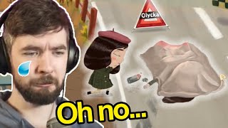 Gamers React to Little Misfortune Ending (Game Theorists, Jacksepticeye) | Funny Moments