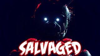 """""""Salvaged - FNaF Song by NateWantsToBattle [FNAF RE-ANIMATED LYRIC VIDEO]"""