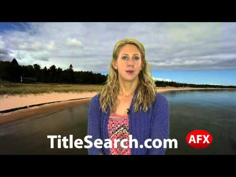Property title records in Iosco County Michigan   AFX