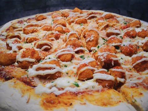 Buffalo Chicken Pizza   The Bacon Betches