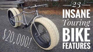 23 Mind Blowing Touring & Bikepacking Bike Features!