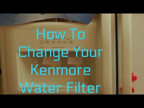 Kenmore Refrigerator Filter Replacement Kenmore model #106.58422700
