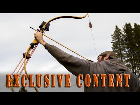 Clay Hayes makes traditional bowhunting, archery, bow building videos.
